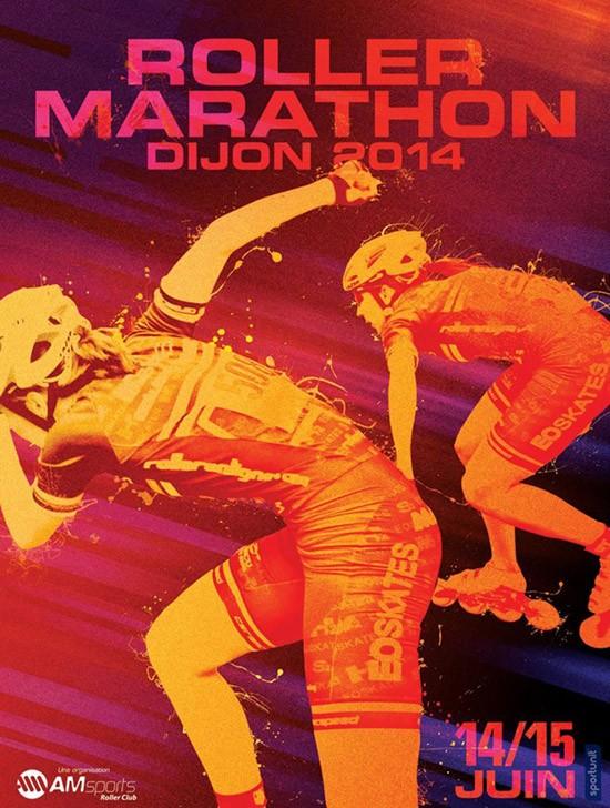 affiche_roller_marathon_dijon_20142
